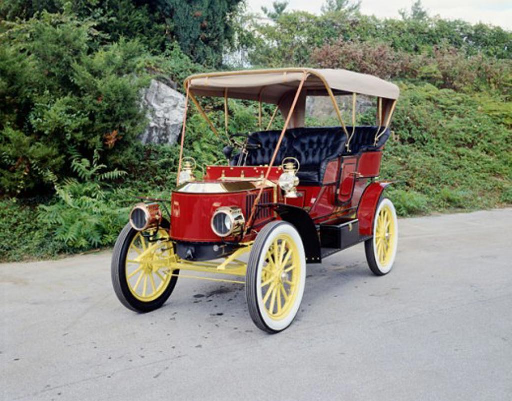 Stock Photo: 2134-164 1906 Stanley Steamer