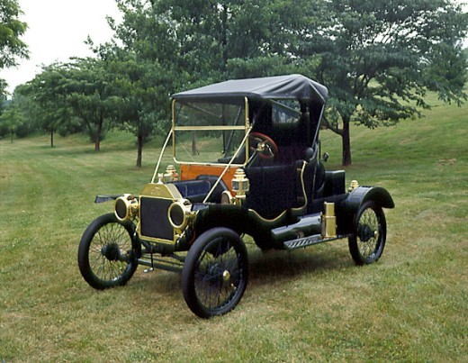 Stock Photo: 2134-239 1912 Ford Model-T