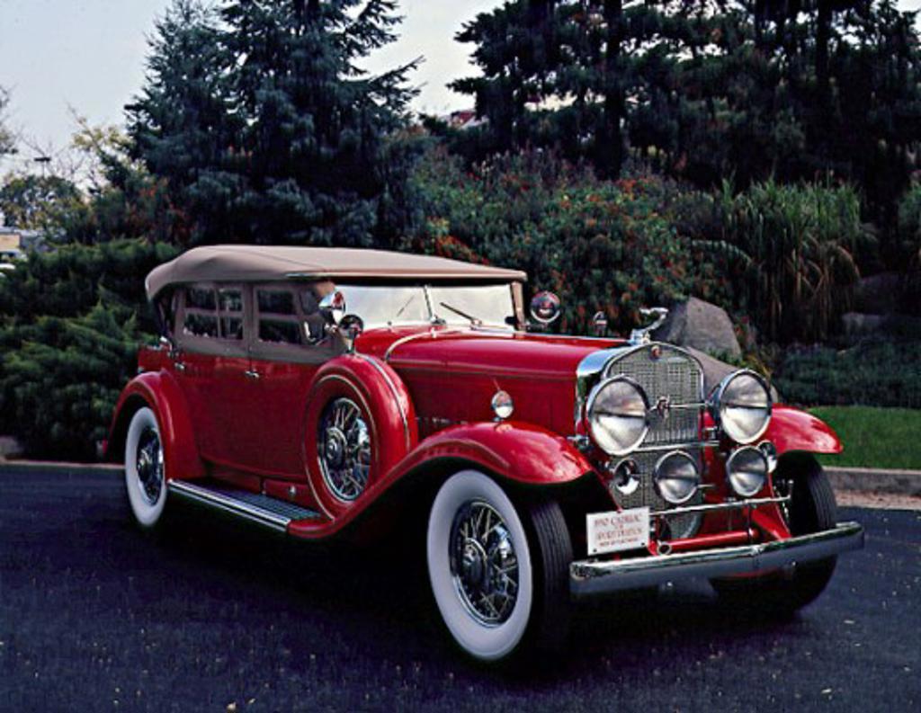 1930 Cadillac V16 Sport Phaeton : Stock Photo
