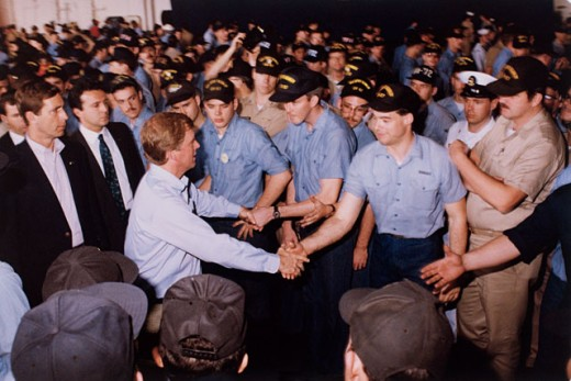 Stock Photo: 214-362 Vice President Dan Quayle