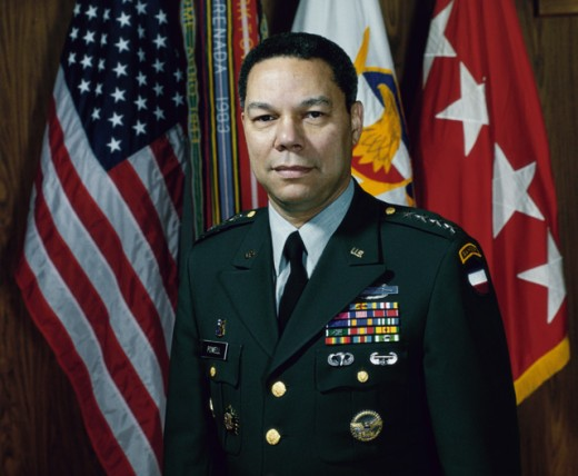Stock Photo: 214-417 General Colin Powell