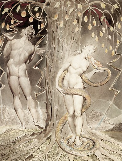 Stock Photo: 2145-443205 The Temptation & Fall Of Eve