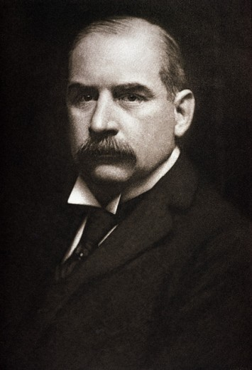 Stock Photo: 2145-536428 John Pierpont Morgan