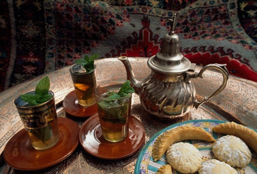 Stock Photo: 2173-1202 Tea