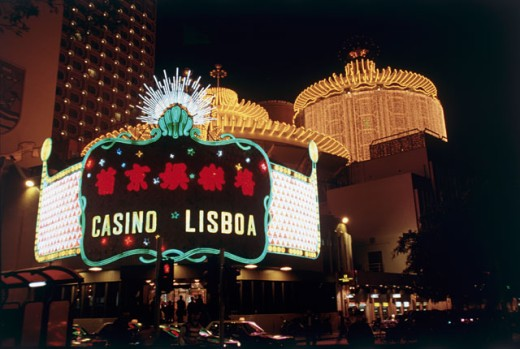 Stock Photo: 2173-1434B Lisboa Casino and Hotel