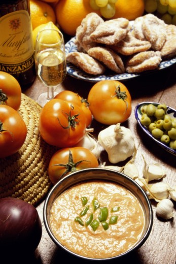 Stock Photo: 2173-1617A Salmonejo and Pestino