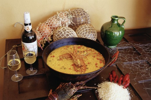 Arroz con Langosta