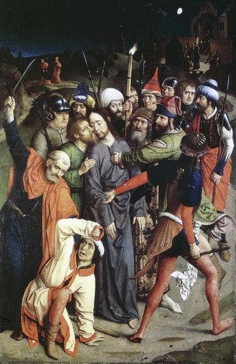 Stock Photo: 2180-486329 The Betrayal of Christ