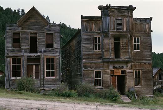 Elkhorn Ghost Town Montana USA : Stock Photo
