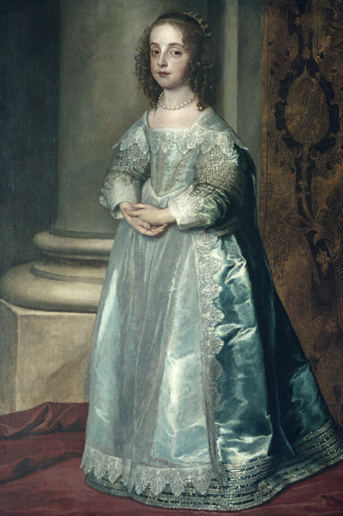 Stock Photo: 2220-456446 Mary Stuart by Anthony van Dyck, (1599-1641)