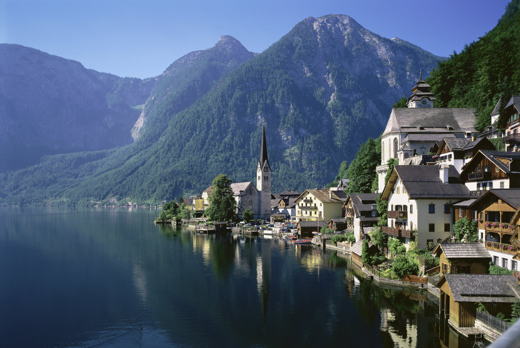 Stock Photo: 2231-408B Hallstatt