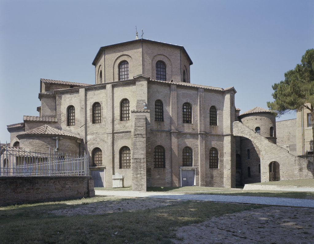 Stock Photo: 2231-523741 Rear View of San Vitale
