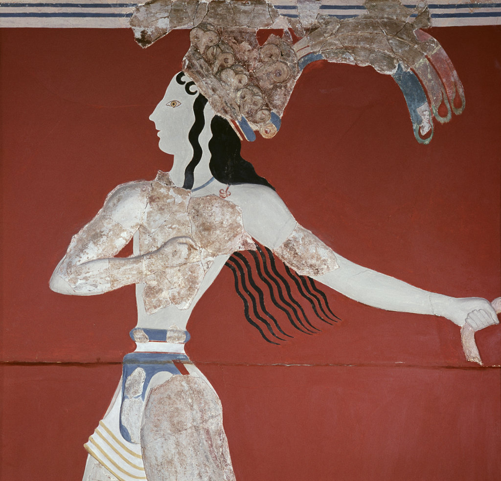 Stock Photo: 2324-407578 Priest/King from Knossos