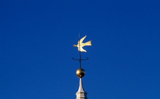Stock Photo: 235-179A High section view of a weather vane