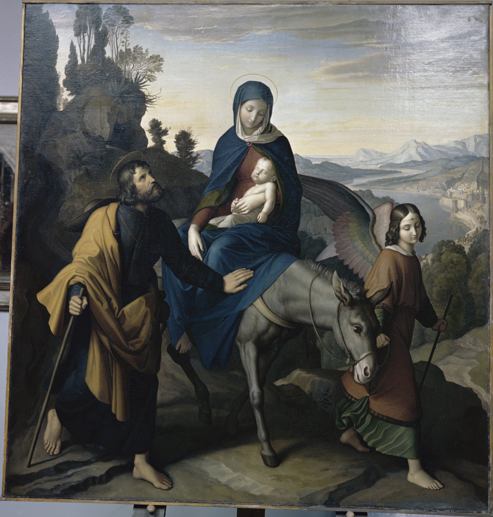 Stock Photo: 2456-62118 FLIGHT INTO EGYPT