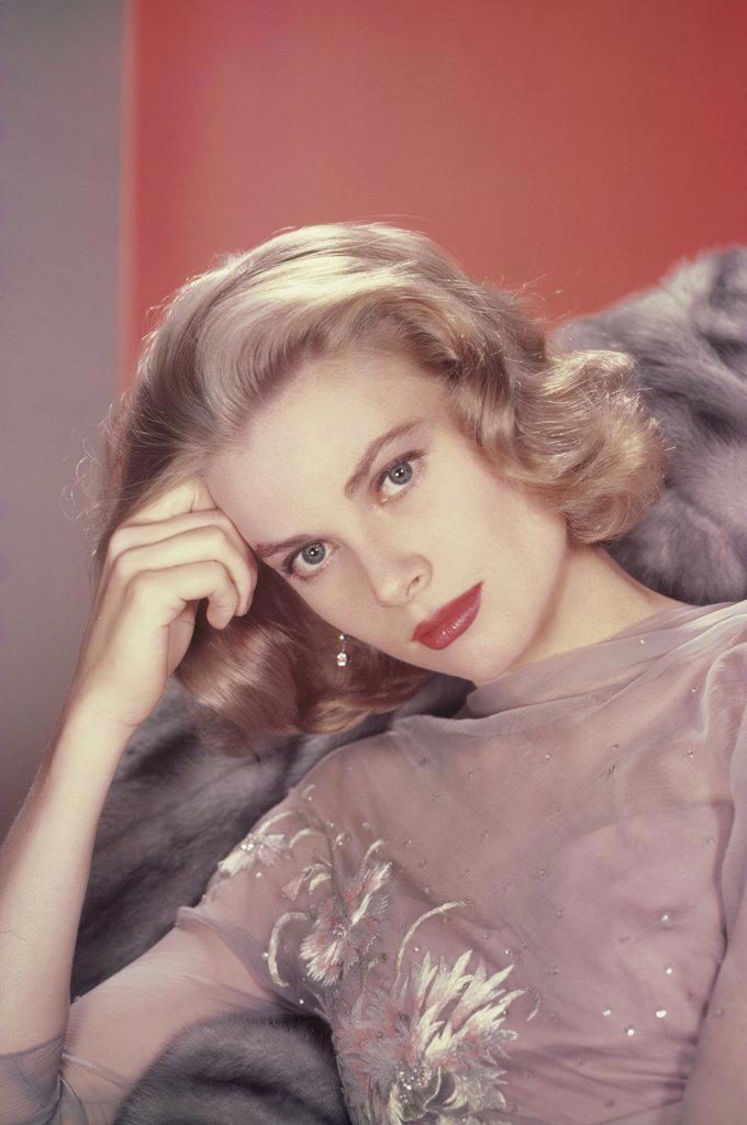 Stock Photo: 252-114 Grace Kelly 1956 Actress (1929-1982)