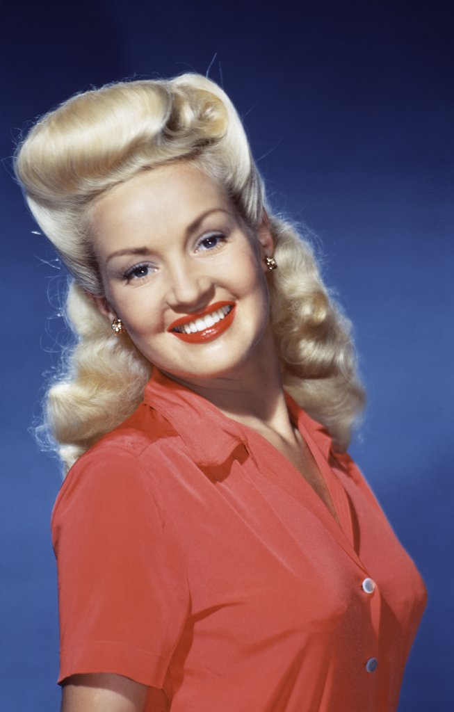 Stock Photo: 252-120 Betty Grable  