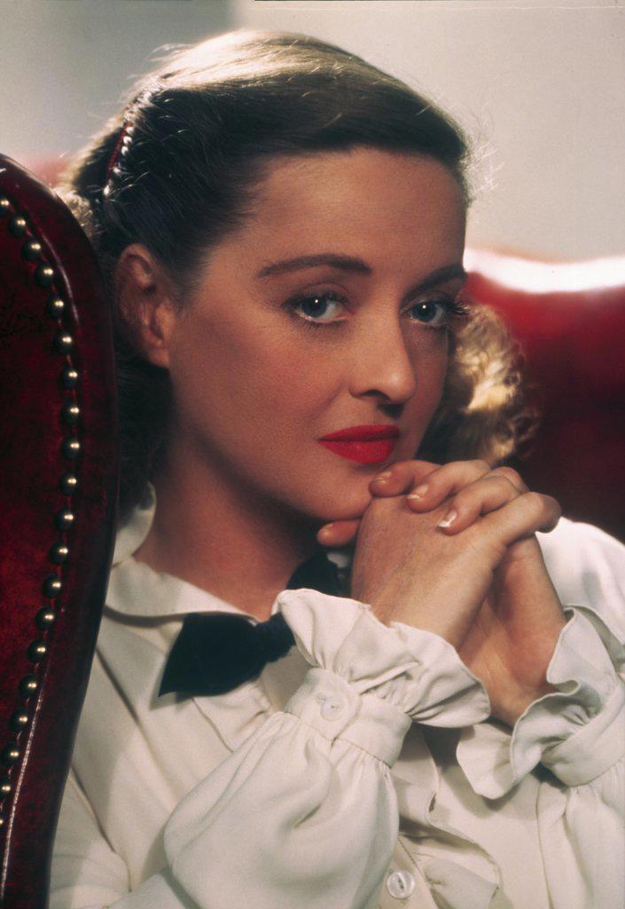 Stock Photo: 252-122 Bette Davis  1951   Actress (1908-1989)