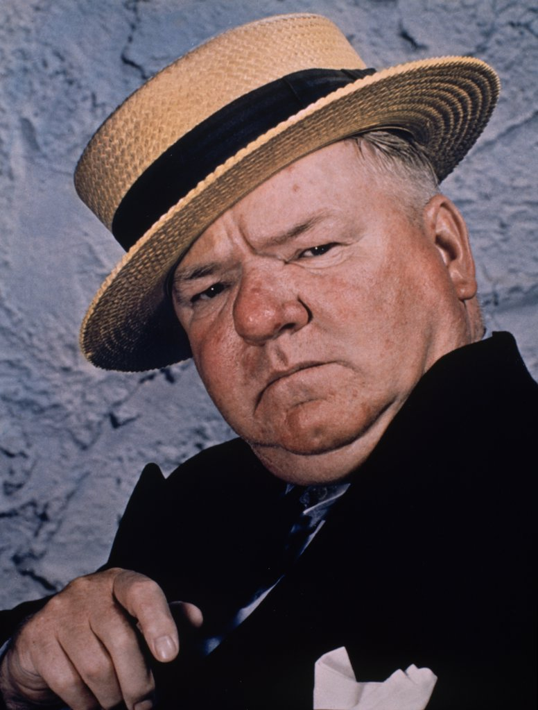 Stock Photo: 252-123 W.C. Fields 