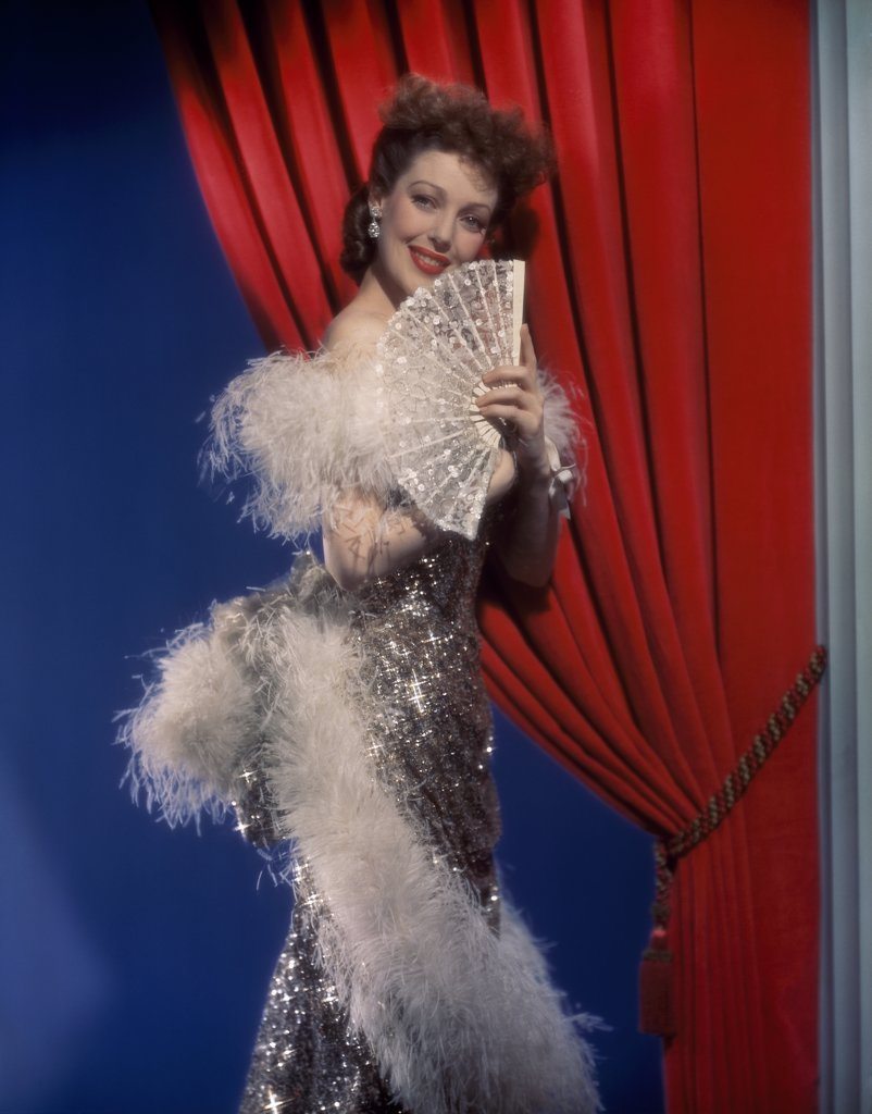 Stock Photo: 252-131 Loretta Young  