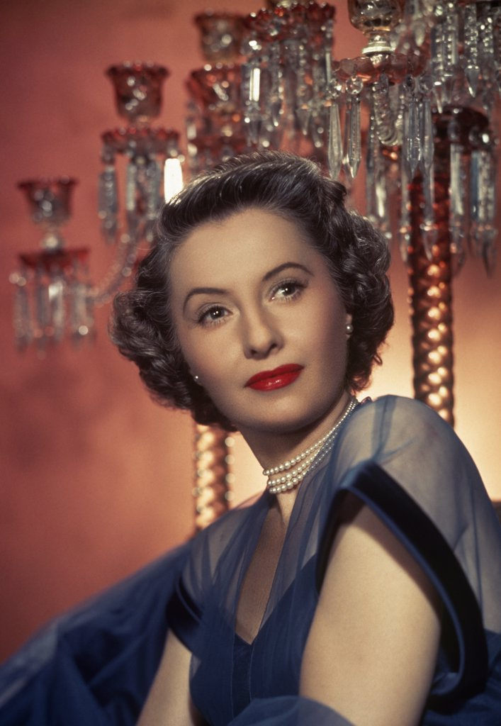 Stock Photo: 252-140 Barbara Stanwyck