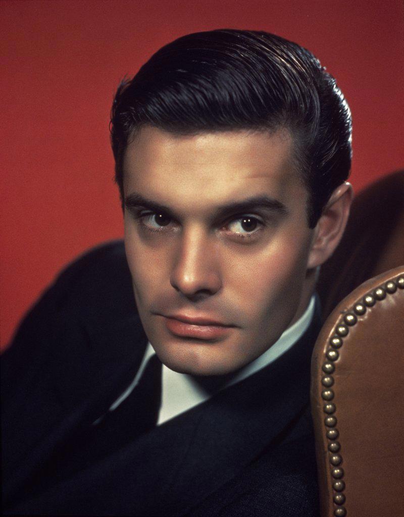 Louis Jourdan  (1920-    )  Actor       : Stock Photo