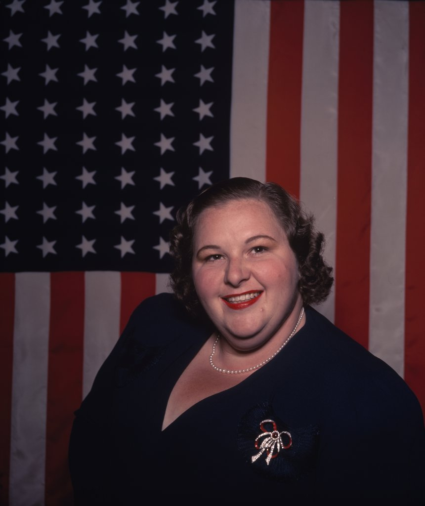 Stock Photo: 252-148 Kate Smith 