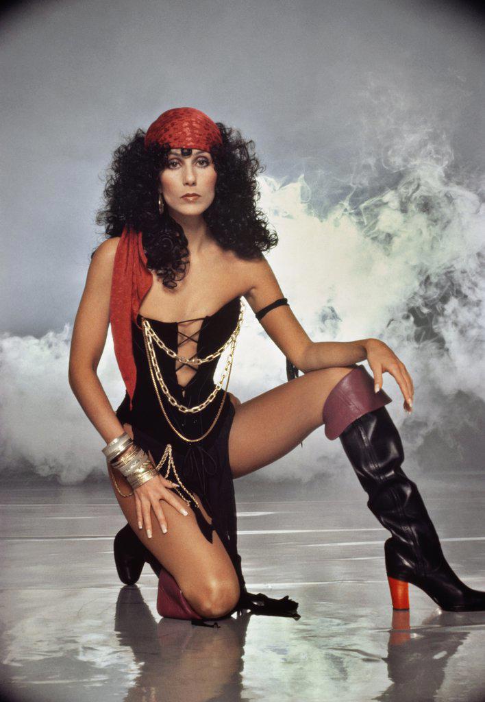 Stock Photo: 252-151 Cher  Actress/Singer  (1946-    )