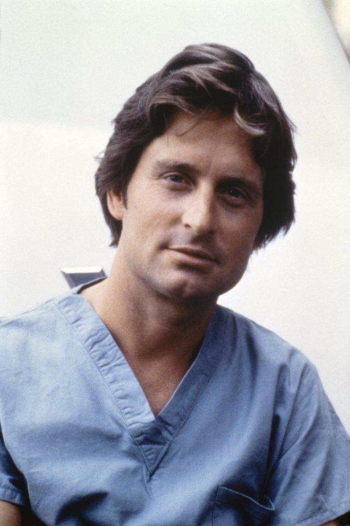 Stock Photo: 252-155 Michael Douglas, Coma, 1978