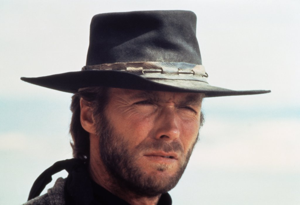 Stock Photo: 252-156 Clint Eastwood 