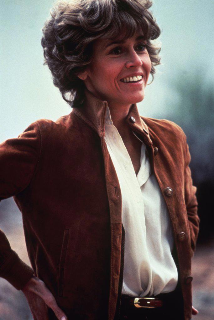Stock Photo: 252-159 Jane Fonda   Actress (1937-     )