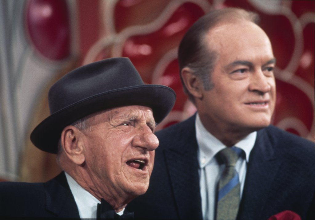 Stock Photo: 252-171 Bob Hope and Jimmy Durante 