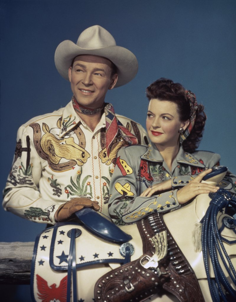 Stock Photo: 252-186 Roy Rogers and Dale Evans