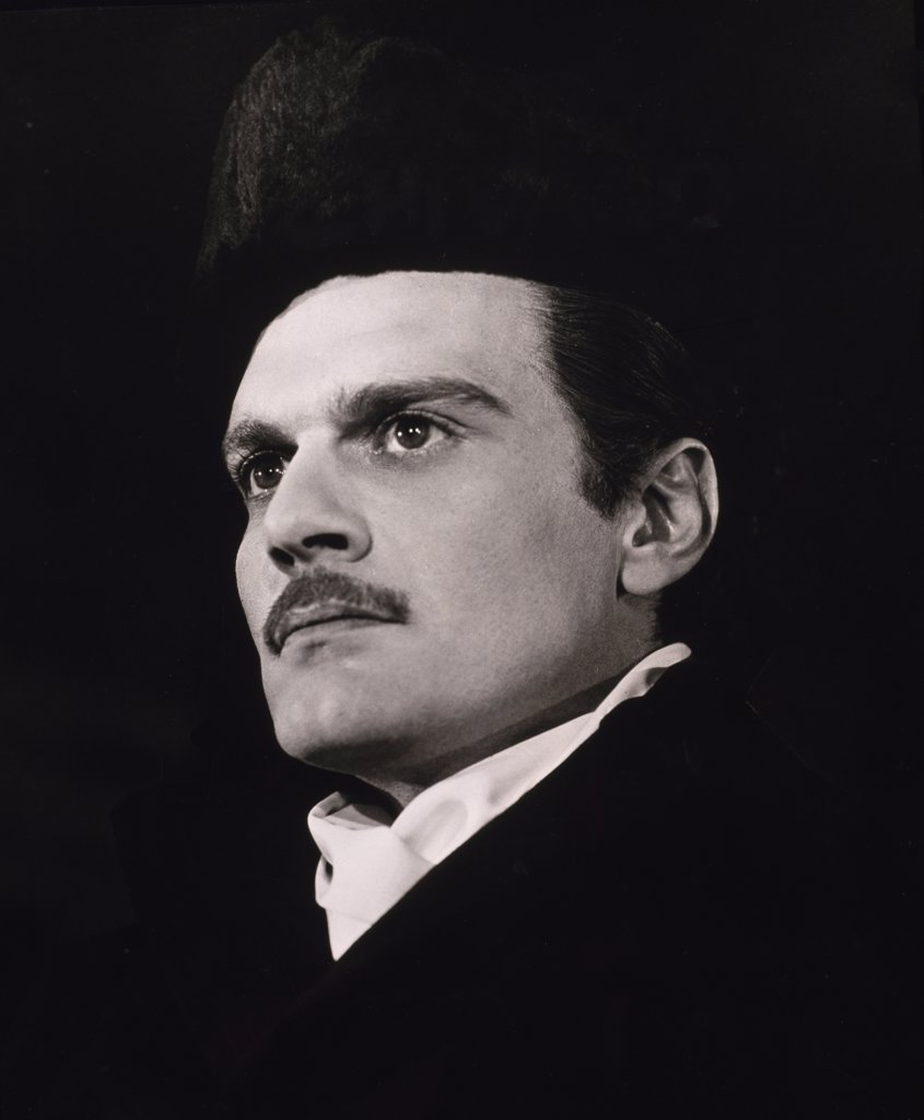 Stock Photo: 252-221 Omar Sharif 