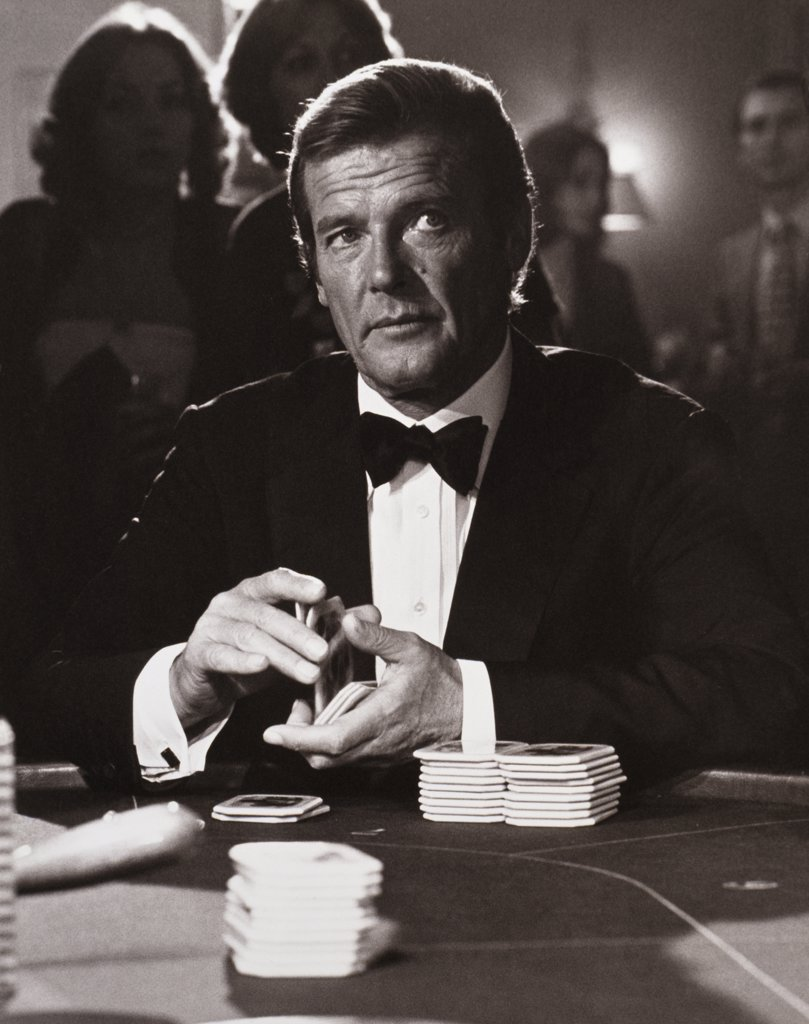 Roger Moore, For Your Eyes Only, 1981 : Stock Photo