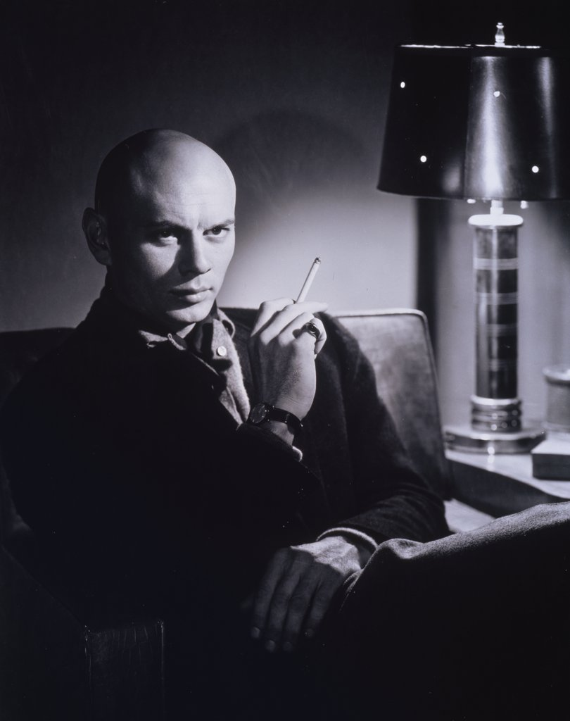 Stock Photo: 252-244 Yul Brynner  