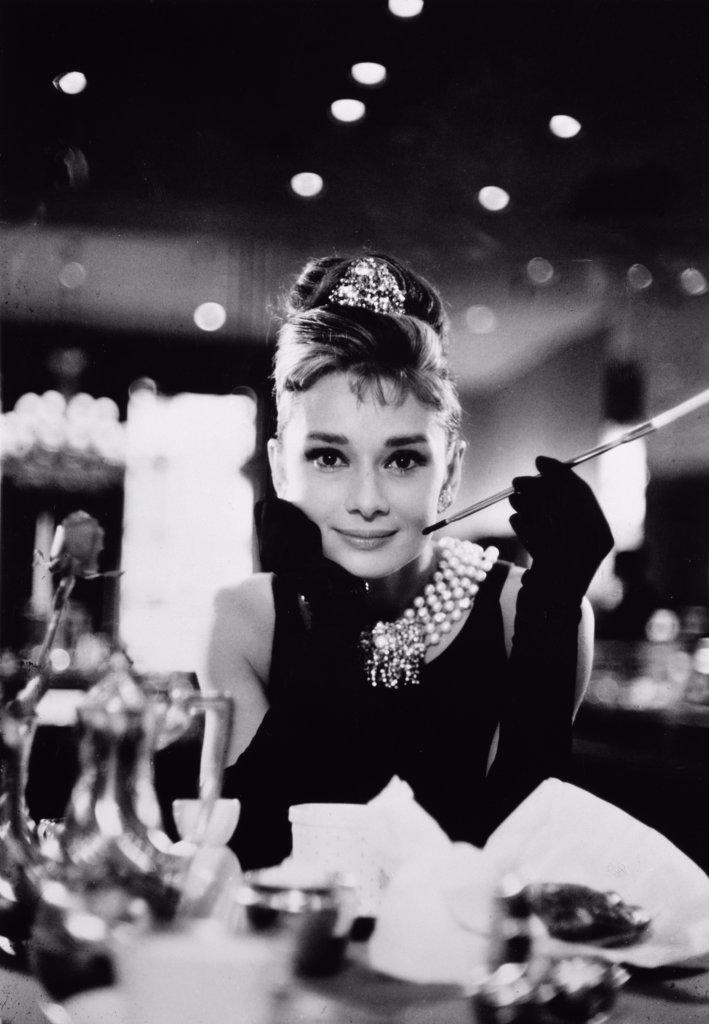 Stock Photo: 252-248 Audrey Hepburn  Breakfast at Tiffany's  1961