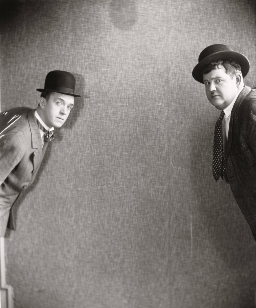 Stock Photo: 252-259 Laurel and Hardy 