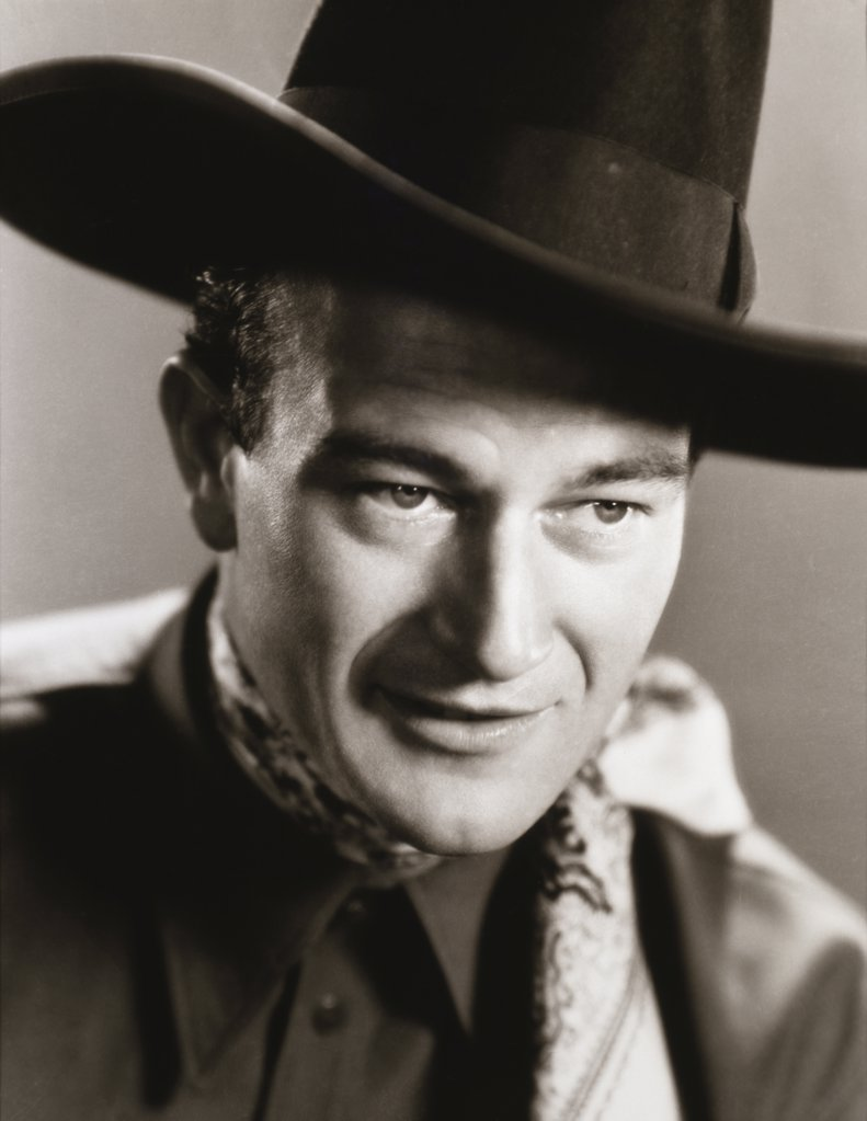 Stock Photo: 252-261 John Wayne