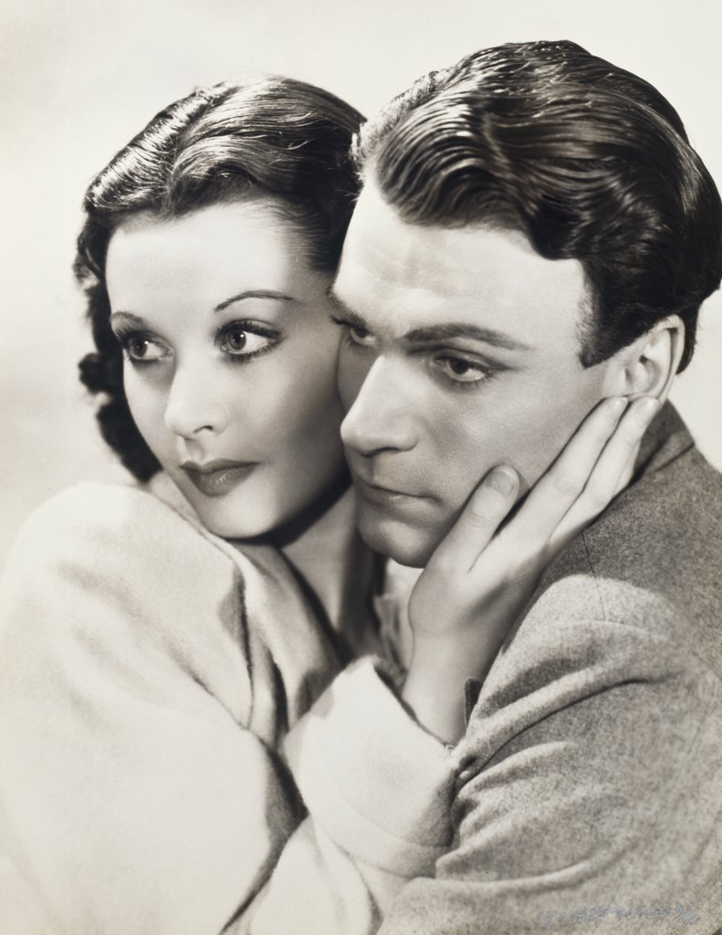 Stock Photo: 252-265 Laurence Olivier and Vivien Leigh