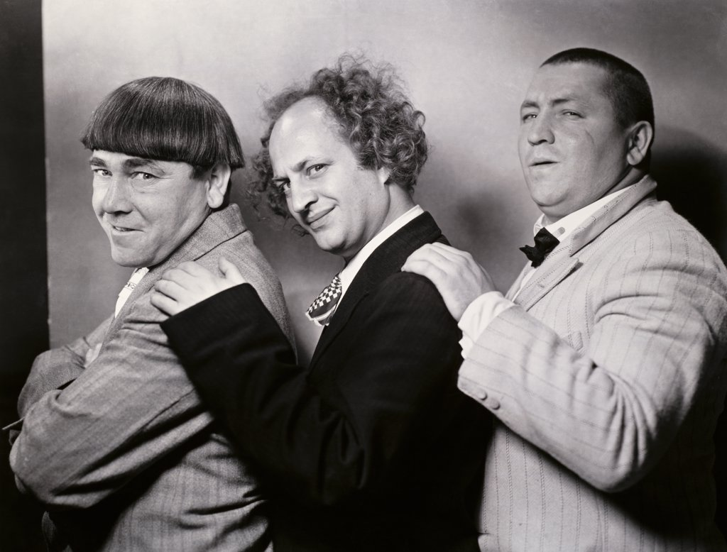Stock Photo: 252-267 The Three Stooges