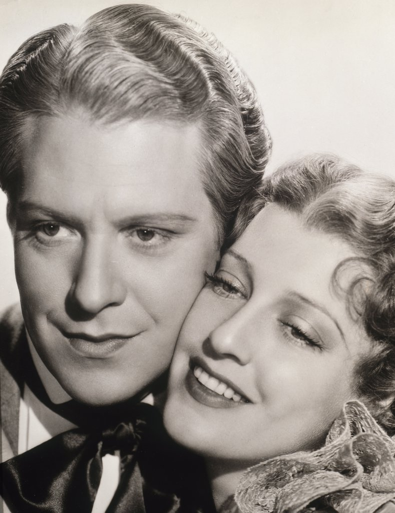 Stock Photo: 252-268 Nelson Eddy and Jeanette MacDonald 