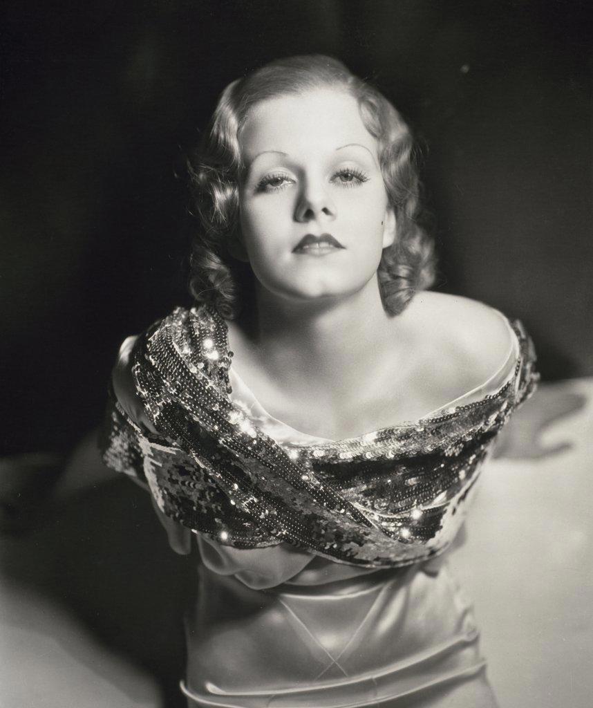 Stock Photo: 252-277 Jean Harlow  Actress (1911-1937)
