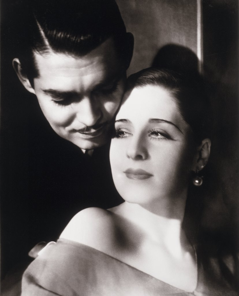 Stock Photo: 252-302 Clark Gable and Norma Shearer