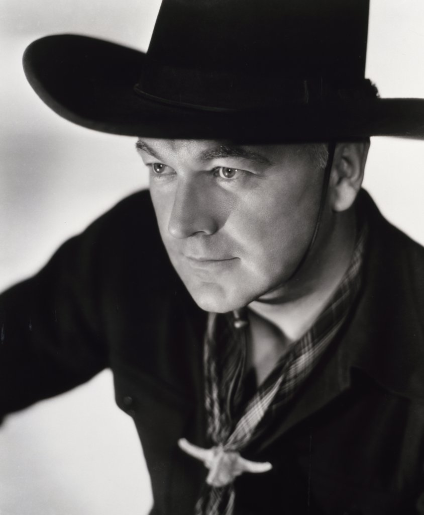 Stock Photo: 252-312 William Boyd as Hopalong Cassidy