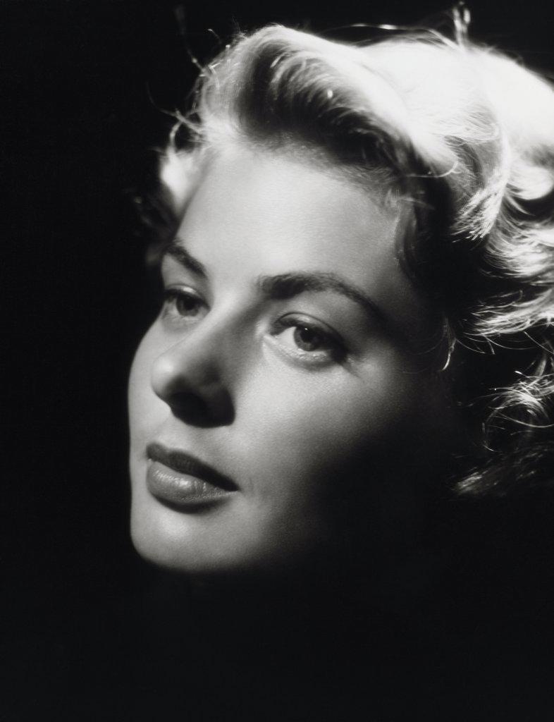 Stock Photo: 252-317 Ingrid Bergman  (1918-1982)  Actress