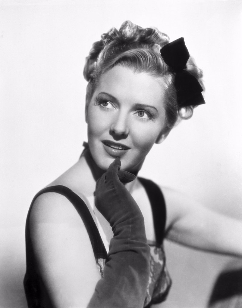 Stock Photo: 252-318 Jean Arthur  