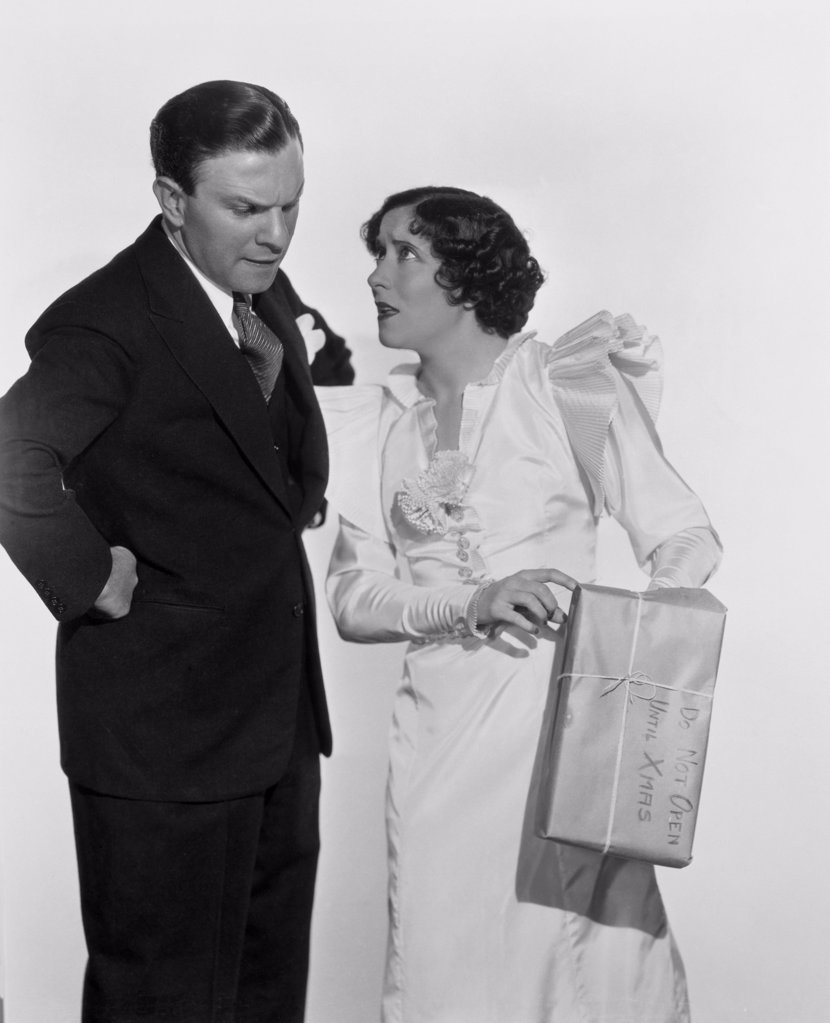 Stock Photo: 252-322 George Burns and Gracie Allen