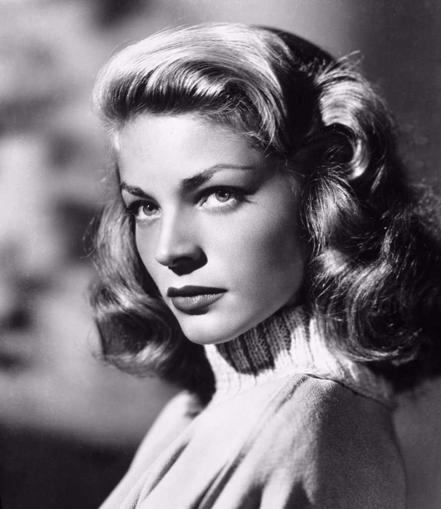 Stock Photo: 252-327 Lauren Bacall 