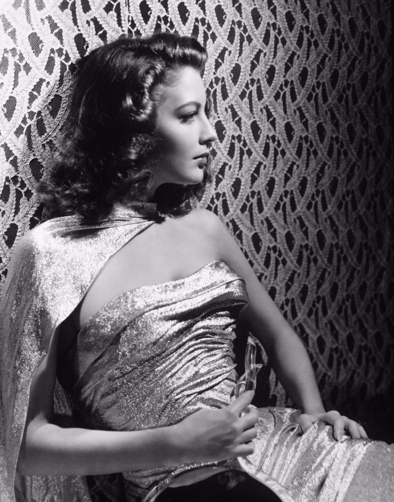 Stock Photo: 252-335 Ava Gardner  1944